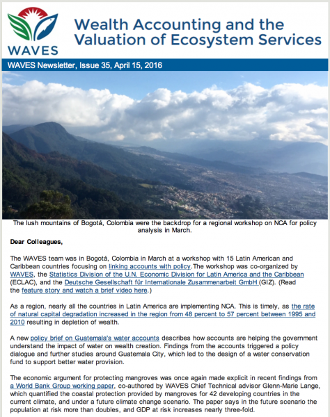WAVES Newsletter Issue 35