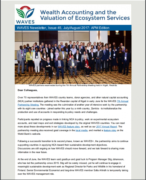WAVES Newsletter Issue 4