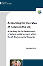 Cover Image of Accounting for the Value of Nature in the UK
