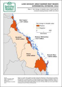 Land Account: Great Barrier Reef Region, Experimental Estimates, 2014
