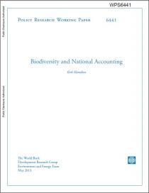 Biodiversity and National Accounting