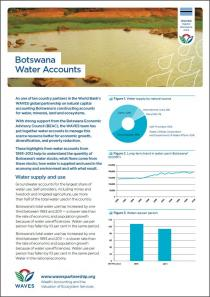 Policy Snapshot: Botswana Water Accounts