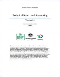 Technical Note: Land Accounting