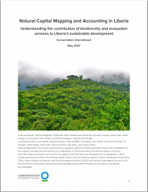 Natural Capital Mapping and Accounting in Liberia: Understanding the contribution of biodiversity and ecosystem services to Liberia's sustainable development