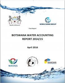 Botswana Water Accounting Report 2014/15