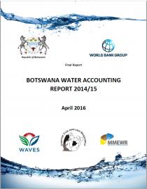 Botswana Water Accounting Report 2014/15