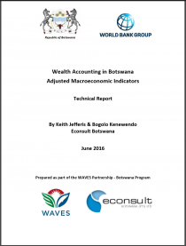 Wealth Accounting in Botswana: Adjusted Macroeconomic Indicators (Technical Report)