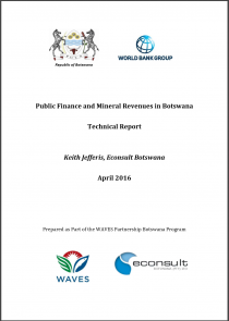 Public Finance and Mineral Revenues in Botswana: Technical Report