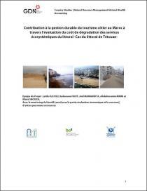 Contribution à la gestion durable du tourisme côtier au Maroc à travers l'évaluation du coût de dégradation des services écosystémiques du littoral - Cas du littoral de Tétouan