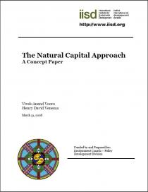 The Natural Capital Approach: A Concept Paper
