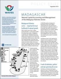 Policy Brief: Madagascar - Natural Capital Accounting and Management of the Malagasy Fisheries Sector