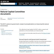 Natural Capital Committee