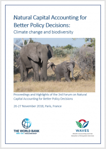 Natural Capital Accounting for Better Policy Decisions report