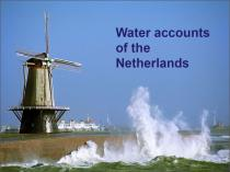 Water Accounts of The Netherlands