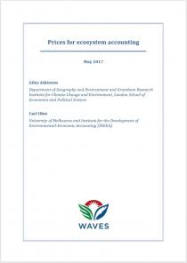 Prices for ecosystem accounting