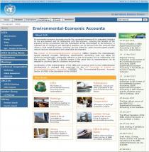 Environmental-Economic Accounts (EEA)