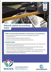 Natural Capital Accounting: Water