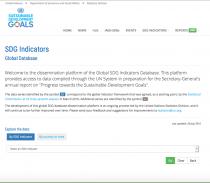 Sustainable Development Goals Indicators: Global Database