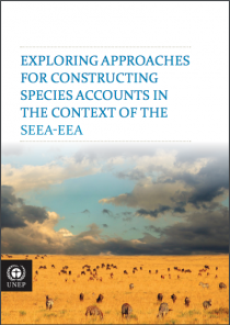Exploring Approaches for Constructing Species Accounts in the Context of the SEEA-EEA