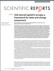 Soil natural capital in Europe: a framework for state and change assessment