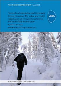 Sustainable and Genuinely Green Economy. The value and social significance of ecosystem services in Finland