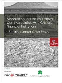 Accounting for Natural Capital Costs Associated with Chinese Financial Institutions - Banking Sector Case Study