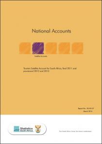 Tourism Satellite Account (TSA), 2011 and provisional 2012 and 2013