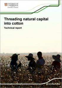 Threading natural capital into cotton: Doing business with nature