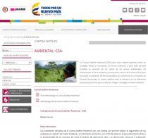 Departamento Administrativo Nacional de Estadística (DANE) de Colombia: Cuenta Satélite Ambiental