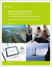Measuring and Managing Corporate Performance in an Era of Expanded Disclosure