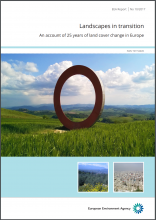 Landscapes in transition: An account of 25 years of land cover change in Europe
