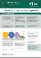 The value in Victoria's Central Highlands