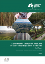 Experimental Ecosystem Accounts for the Central Highlands of Victoria: Final Report