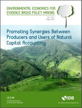 Promoting Synergies Between Producers and Users of Natural Capital Accounting