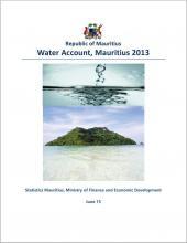 Water Account, Mauritius 2013
