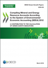 Compiling Mineral and Energy Resources According to the System of Environmental-Economic Accounting (SEEA) 2012: A Contribution to the Calculation of Green Growth Indicators