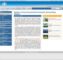 System of Environmental-Economic Accounting (SEEA)