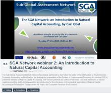 Introduction to Natural Capital Accounting