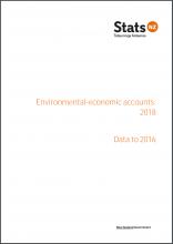New Zealand environmental-economic accounts: 2018