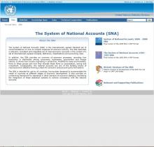 The System of National Accounts (SNA)