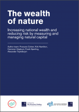 The Wealth of Nature: Increasing National Wealth and Reducing Risk by Measuring and Managing Natural Capital