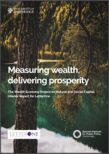 Measuring wealth, delivering prosperity