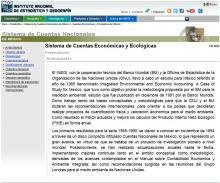 Sistema de Cuentas Económicas y Ecológicas de México