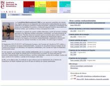 Instituto Nacional de Estadística: Contabilidad Medioambiental de España