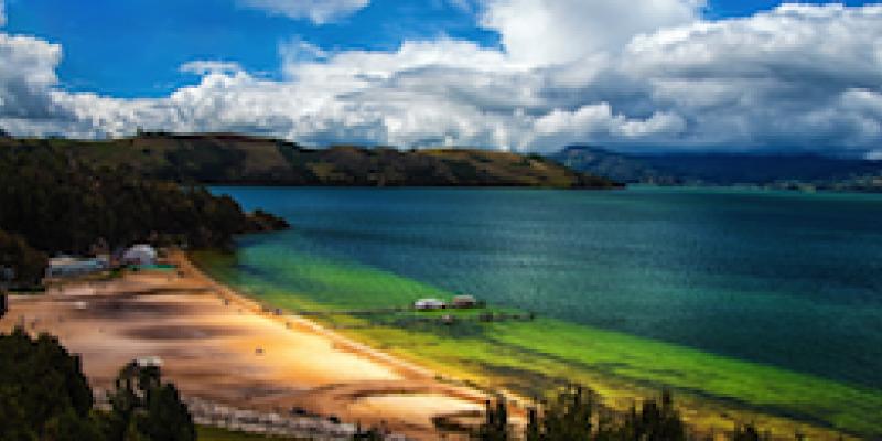 Lake Tota in Colombia