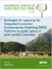 Strategies for applying the Integrated Economic Environmental Modelling (IEEM) Platform to public policy in post-conflict Colombia