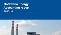 Botswana Energy Accounting Report 2015/16