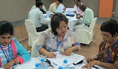Participants at a WAVES workshop in Mauritius. - Photo:Ricardo Martinez-Lagunes/UNDESA