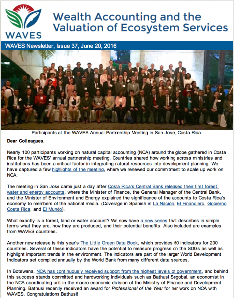 WAVES Newsletter Issue 37