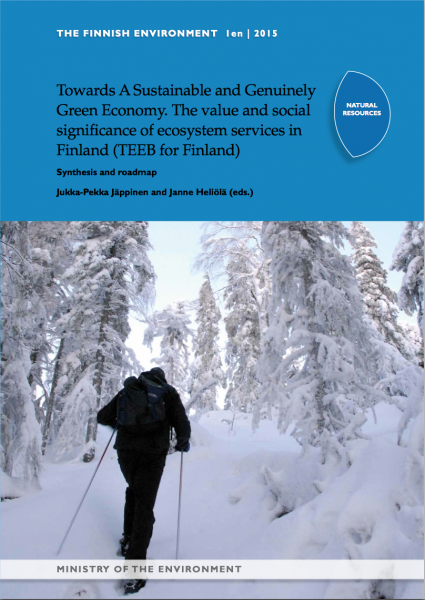 The value and social significance of ecosystem services in Finland (TEEB for Finland)